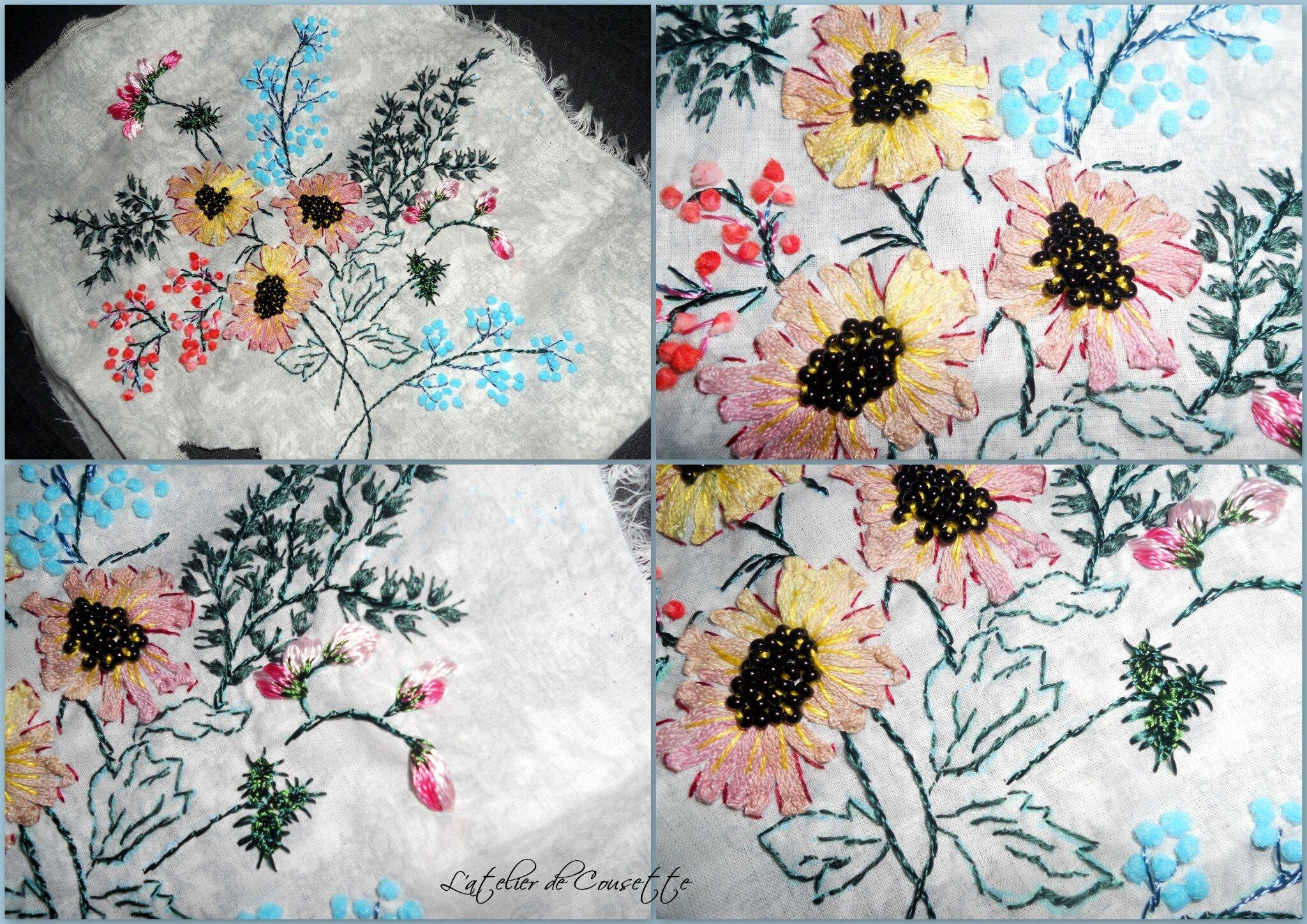 Challenges 2013 - Février - Le bouquet de la Grande Paula