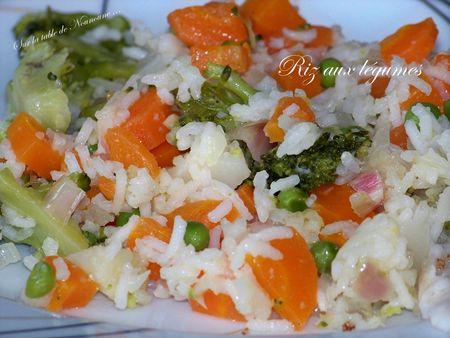 Riz aux légumes 3