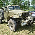 Dodge wc weapons carrier sans treuil pick-up 1944