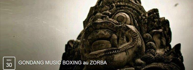 Gondang Music Boxing au Zorba - mai 2015