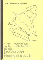 3eme bulletin de liaison club géologie le Béryl de Tournefeuille 1990 001