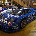 Bugatti eb110s le mans