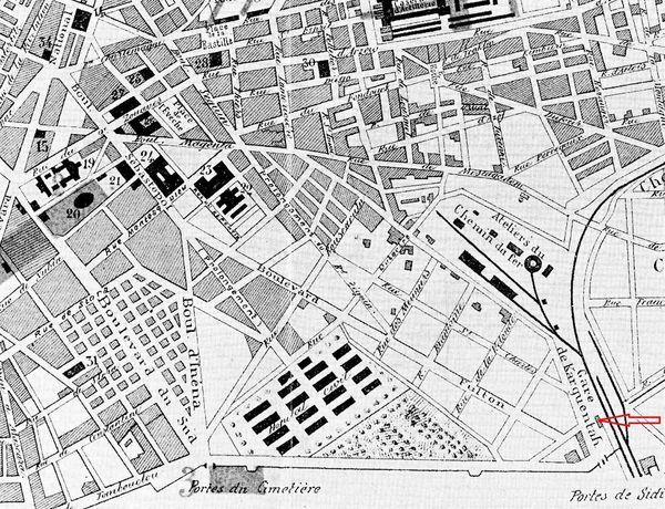 Oran - Plan 1895- 01- Plateau St Michel