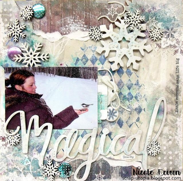 Magical Snow Day (scrap-utopia)