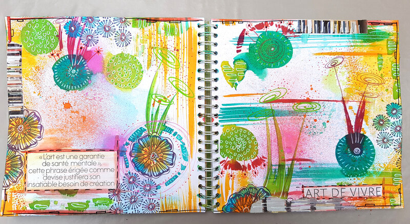 Azoline 2017-9 Art journal 5
