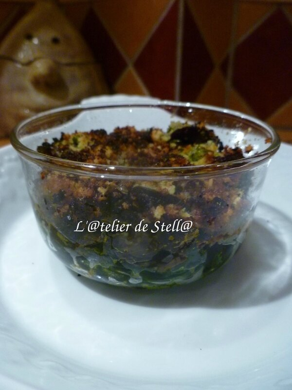 Casolette d'escargots