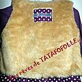 Robe mauve violet LTL4 TTF