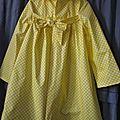 Ciré vichy jaune (2)