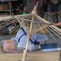 fabrication des ombrelles