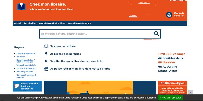 """""""Chez-mon-libraire.fr"""" : la revanche des petites librairies indépendantes en Auvergne-Rhône-Alpes"""