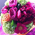 Communion d'isaure : fleurs, couleurs éclatantes
