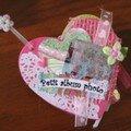 mini album coeur pour ma belle soeur