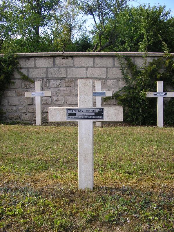 Trouville Alliquerville André Tannay NN Verdun Glorieux
