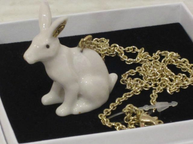 Collier Lapin &klevering