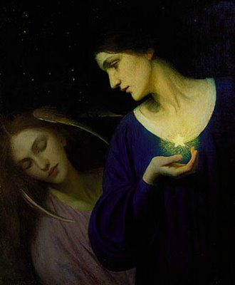 Night and Sleep 1902, Mary Macomber