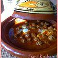 Tajine kefta oeuf, petit détour par le maroc