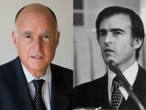 Jerry Brown then and now