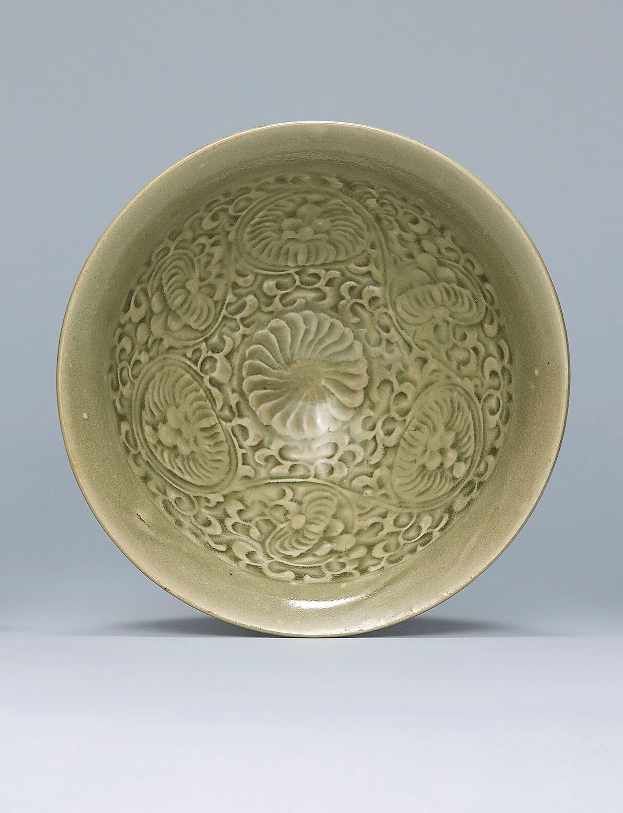 A moulded Yaozhou celadon bowl, Song dynasty (960-1279) ------WebKitFormBoundaryGZApGXmpKtiUwOWA Content-Disposition: form-data; name=