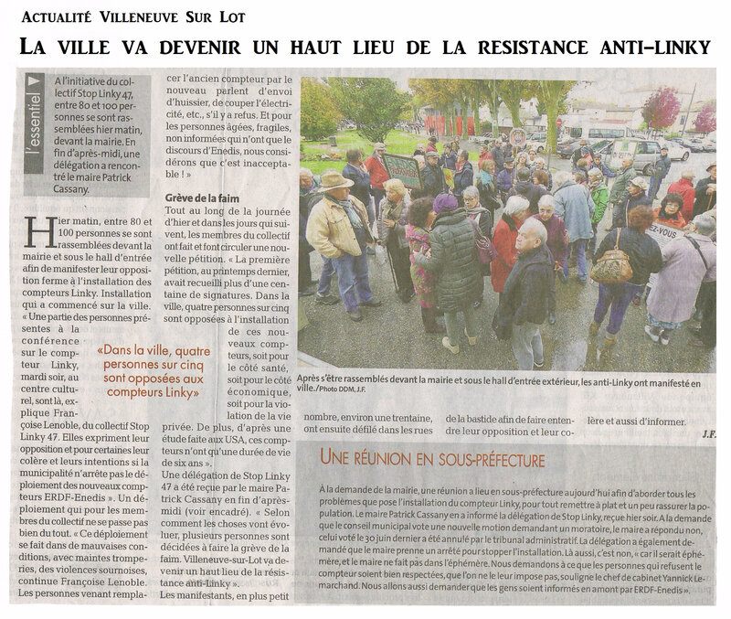 2 Manifestation Villeneuve Sur Lot