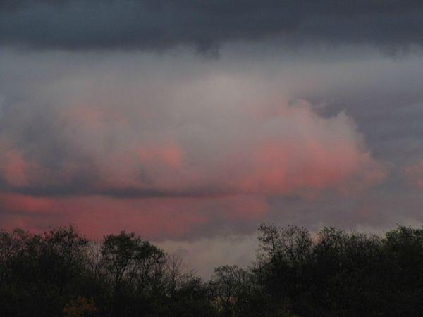 ciel bleu rose