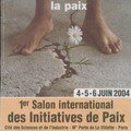 Salon des initiatives de paix 2004