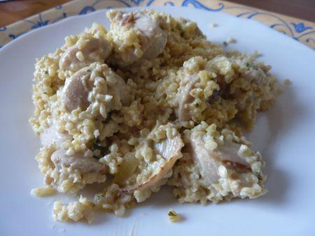 quinoa boudin moutarde 2