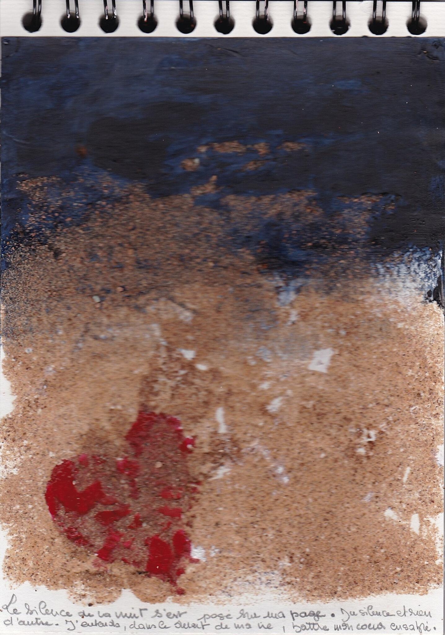 Le cœur cousu. Marylise Gillard.