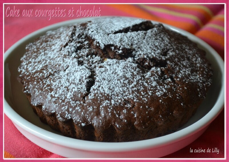 cake courgettes chocolat