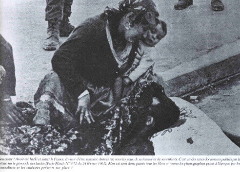 harki massacré, Paris-Match, 24 février 1962