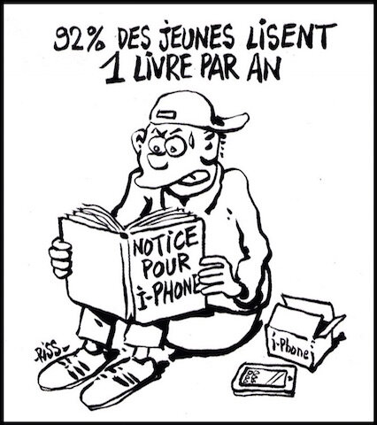 92% des jeunes lisent 1 livre par an
