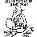Humour - les jeunes et la lecture...