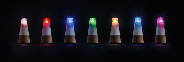 suck uk bouchon bottle light multicolore 3