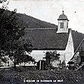 BOURBACH-LE-HAUT - Grande Guerre 1914-1918