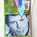 Mailart marque page jacques brel