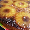 Gâteau antillais à l'ananas et au rhum vieux