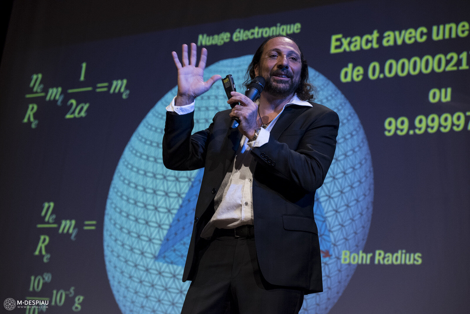 ➡️L'UNIVERS CONNECTÉ: La Solution de masse holographique et la Source de la Conscience NASSIM HARAMEIN