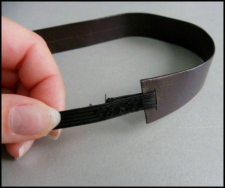 headband marron cuir 3