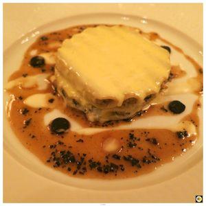 Macaroni, truffe noire et foie gras de canard (1)