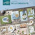 Nouveau catalogue annuel stampin up 2019-2020