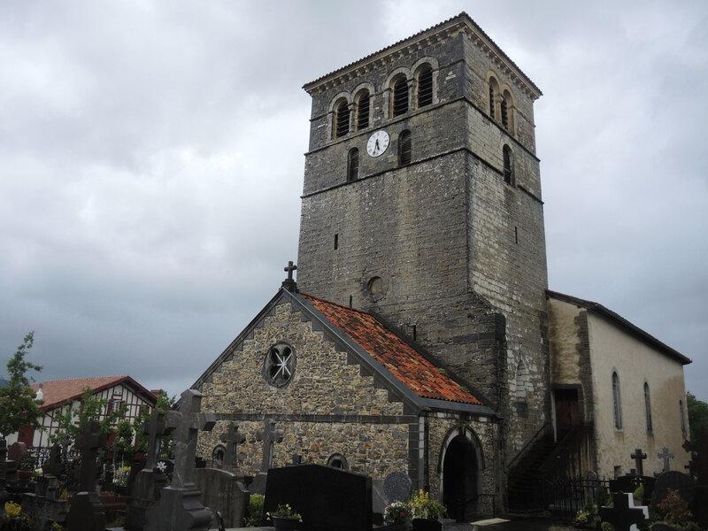 Irissarry, église Saint-Jean-Baptiste (64)