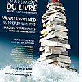 Salon du livre en bretagne - vannes, 2015