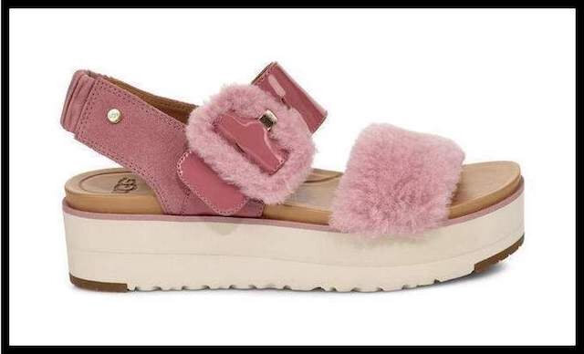 ugg sandale fluff 1