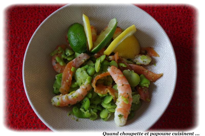 salade de féves et crevettes-3296