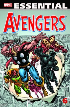 essential avengers vol 6 TP 2nd print