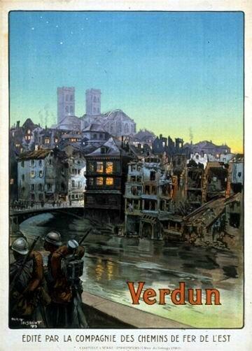 affiche verdun 1919