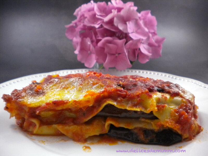 Lasagnes alla parmigiana 4