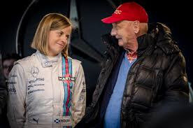 NIKI LAUDA AND SUSIE