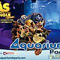 Retrouvez les as de la jungle à l'aquarium de paris jusqu'au 3 septembre