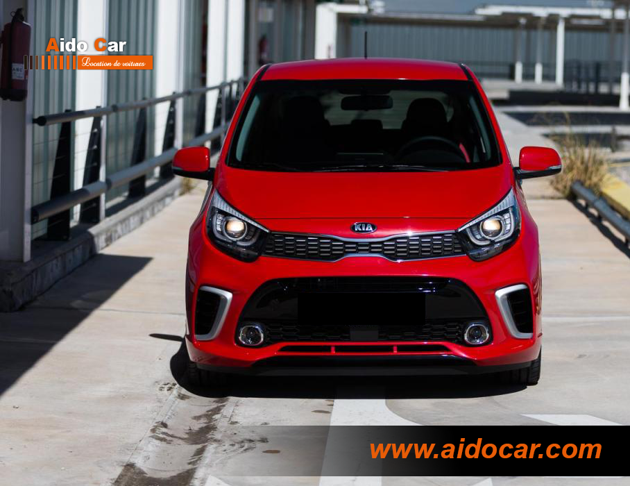 location kia picanto manuelle & automatique à casablanca - aido car