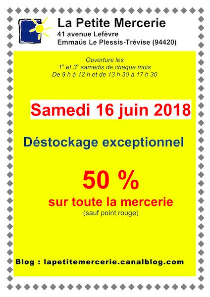 AFFICHE DESTOCK 16 JUIN 2018 - copie 2